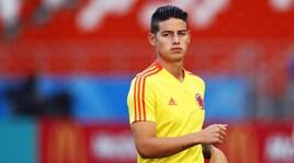 Il Real vuole riportare a Madrid James Rodriguez