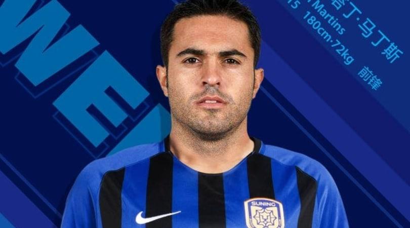 Inter, Eder cambia nerazzurro: va al Jiangsu Suning