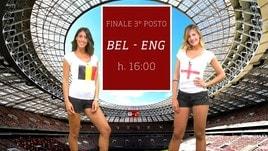 Sfide Mondiali: Belgio-Inghilterra