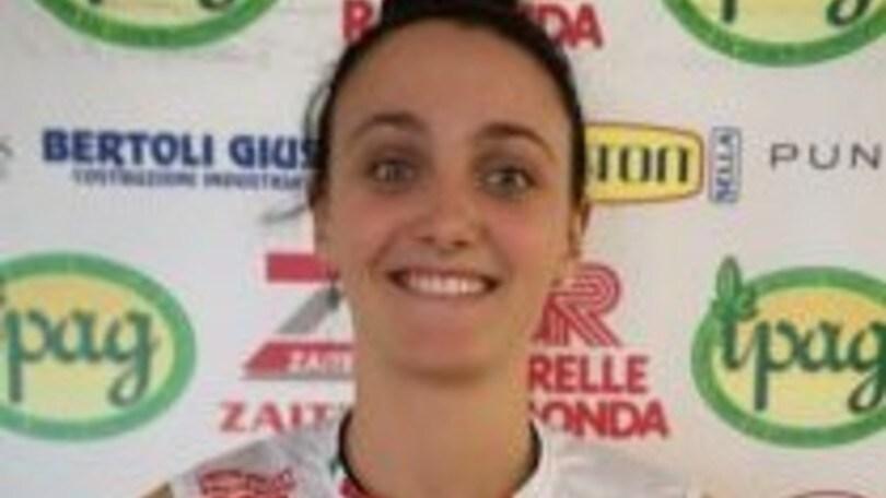 Volley: A2 Femminile, Francesca Trevisan torna a Montecchio