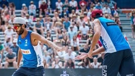 Beach Volley: a Gstaad Lupo-Nicolai approdano ai quarti