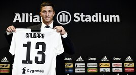Juventus, ecco Caldara: indosserà la maglia numero 13
