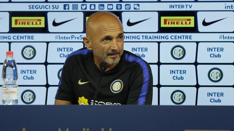 Spalletti: «Il rinnovo? Firmo! All'Inter sto bene»