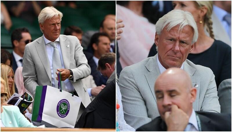 Wimbledon, anche Bjorn Borg si gode lo spettacolo
