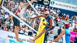 Beach Volley: a Gstaad Lupo-Nicolai in semifinale