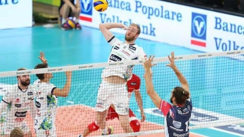 Volley Superlega: Zingel da Trento a Castellana Grotte