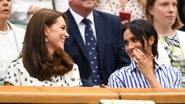 Kate e Meghan regine a Wimbledon