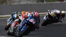 Moto2 Germania: Pasini pole e l'Italia fa la storia
