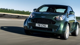 Aston Martin Cygnet V8, motore e stupore in city car