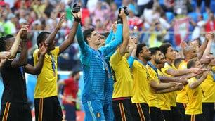Mondiali 2018, il Belgio festeggia il terzo posto