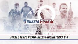Fast Match Report - Belgio-Inghilterra 2-0