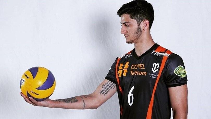 Volley: A2 Maschile, il brasiliano Kaio ad Alessano