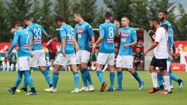 Napoli-Gozzano, le foto più belle del match