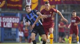 Latina-Roma 0-9: tripletta di Schick, doppietta di Dzeko. Marcano, che rovesciata