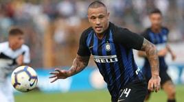La prima di Nainggolan con la maglia dell'Inter
