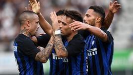 Inter, 3-0 al Lugano in amichevole