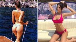Antonella Fiordelisi, tuffi e sole: l'estate è già cominciata