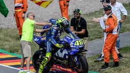 MotoGp Germania, Rossi: «Ho fatto come Folger nel 2017»