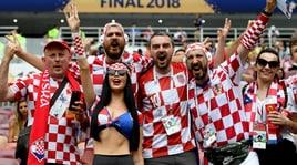 Mosca a scacchi: i tifosi della Croazia ci credono