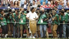 Mondiali Russia 2018, Ronaldinho suona alla cerimonia di chiusura