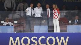 Mondiali, politica e tanto calcio in tribuna per la finalissima