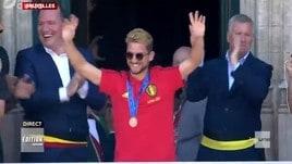 Il Belgio torna a casa, Mertens ironizza sulla sua altezza