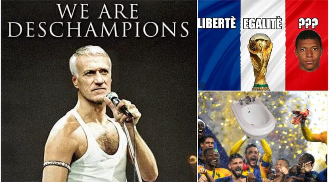 I commenti del web al trionfo dei 'Galletti' contro la Croazia nella finale di Mosca tra ironie e sfottòN