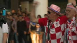 Tifosi Croazia, sconfitti ma orgogliosi