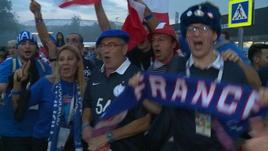 Russia 2018, tifosi francesi in delirio