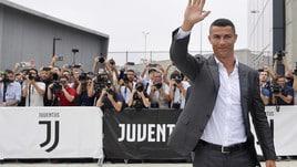 L'arrivo di Cristiano Ronaldo al J Medical