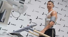 Cristiano Ronaldo, visite al J Medical