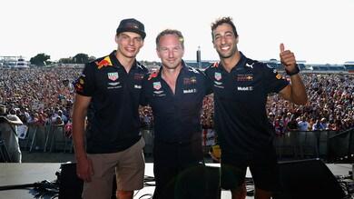 F1 Red Bull, Ricciardo: «Hockenheim è un circuito divertente»