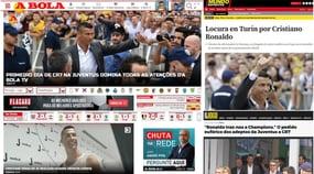 Ronaldo, visite con la Juventus: le reazioni dei siti stranieri