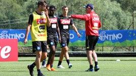 Napoli, Ancelotti striglia la squadra in ritiro