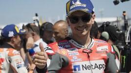 MotoGp Germania, Lorenzo: «Non c'è alcun problema con Petrucci»