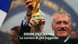Deschamps, la carriera di una leggenda