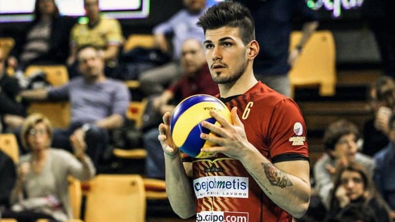 Volley: A2 Maschile, Corrado da Vibo a Catania