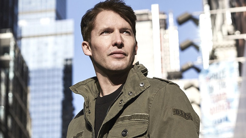 James Blunt infiamma la Capitale