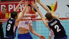 Volley: Europei Under 20, l'Italia cede alla Russia