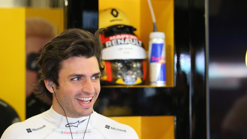 F1 Renault, Sainz: «Dobbiamo lavorare duro per mantenere il quarto posto»