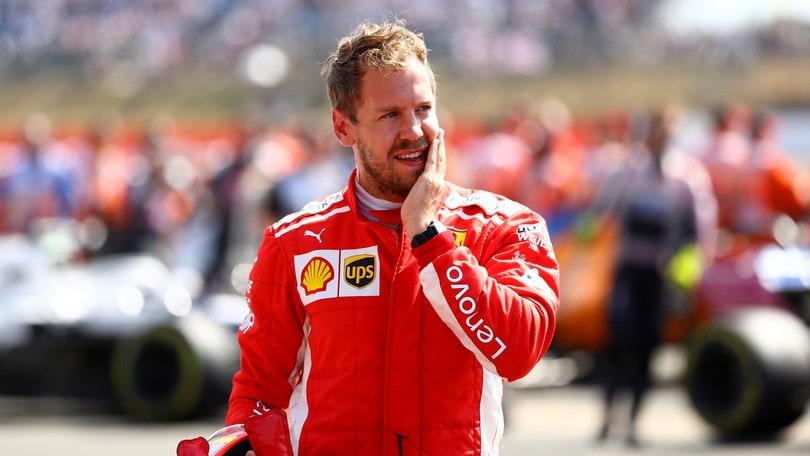 F1 Ferrari, Vettel: «Sono uno sportivo, non una celebrità»