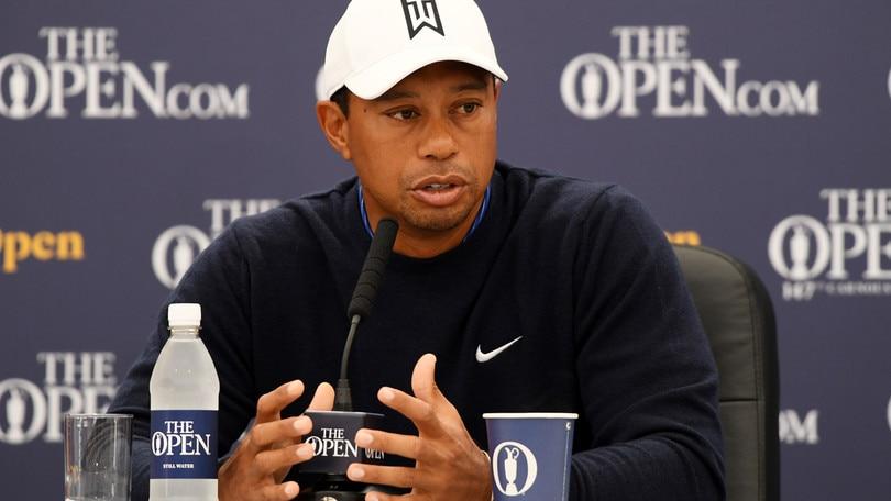 Golf, Open Championship al via: sfida tra big con Tiger Woods