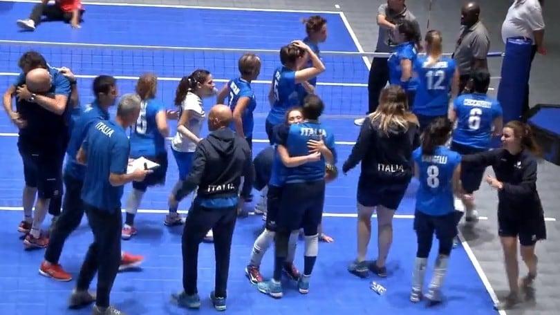 Sitting Volley:  l'Italia è nei quarti del Mondiale