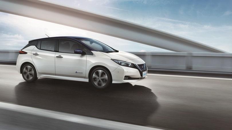 Nissan Leaf E-Plus, prestazioni e autonomia extra