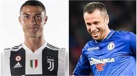 Cassano: «Magari avessi avuto la testa di Cristiano Ronaldo...»