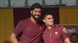 Roma, Perotti saluta Alisson:«Perdita importante»