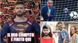 La Roma vende Alisson al Liverpool per 75 milioni: la reazione dei social