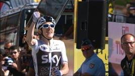 Tour, 11° tappa - Dominio Sky, tappa e maglia per G