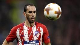 «Dall'Atletico nessuna offerta di rinnovo per Godin». E la Juventus spera...