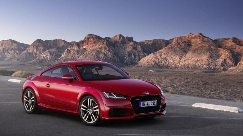 Audi TT restyling nel segno di eleganza e potenza